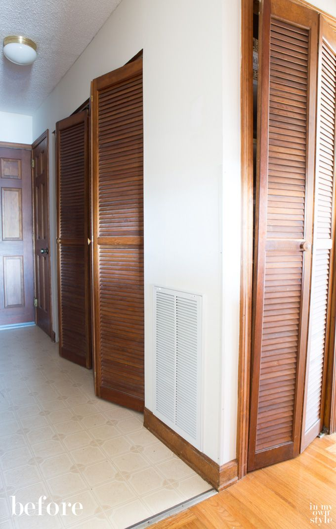 How I Painted Louvered Doors Stains, Doors and Paint