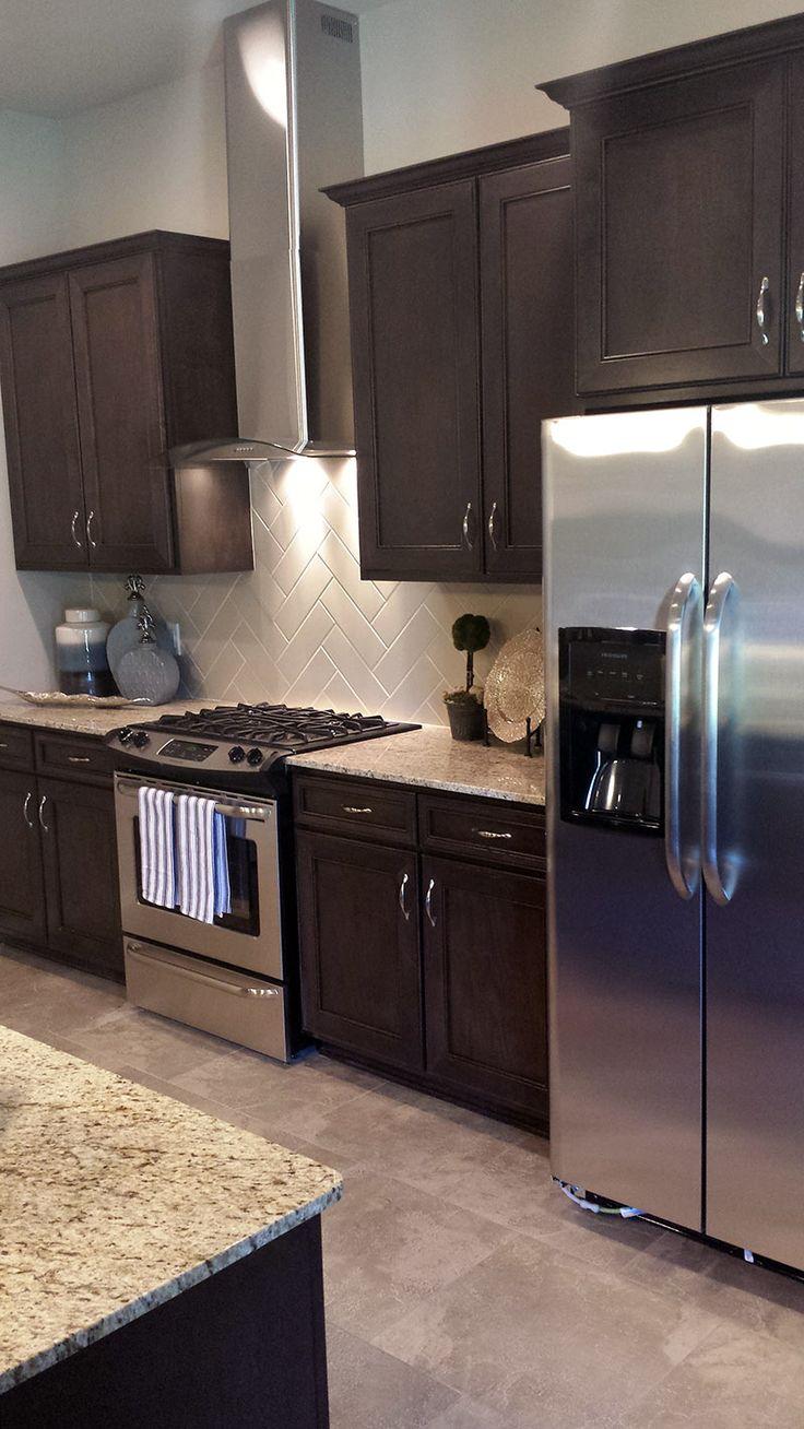 17 Best Ideas About Dark Kitchen Cabinets On Pinterest