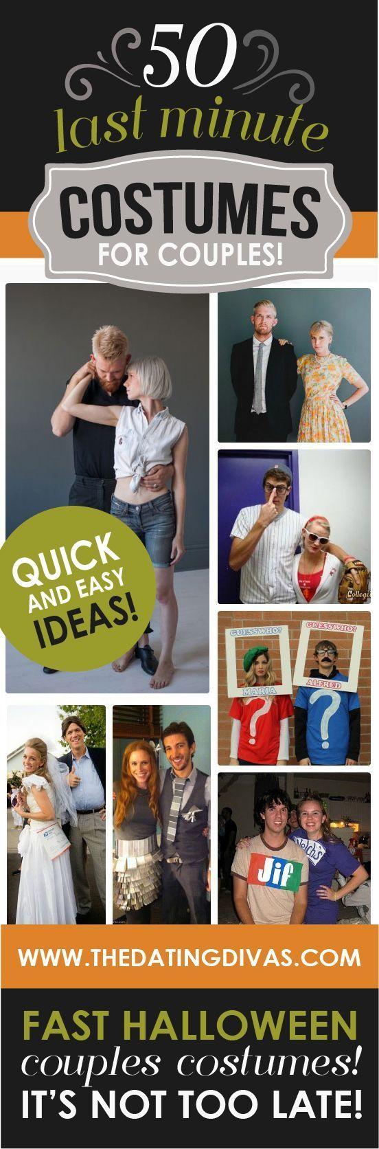 50 Last Minute Couples Halloween Costume Ideas Last