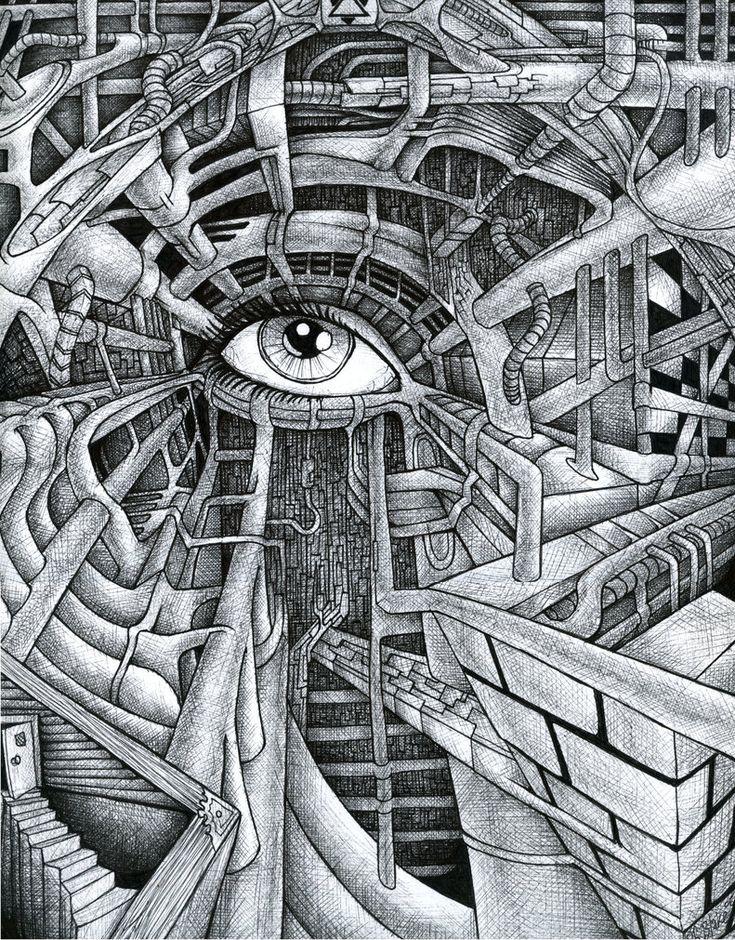 Eye Catching Abstract Sketches Abduzeedo Design
