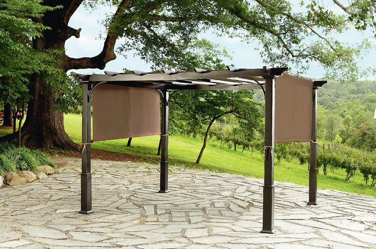 500 Garden Oasis 9x10 Pergola With Heavy Duty Posts