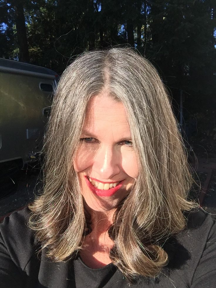 18 Best Images About Growing Out Gray Hair My Transition