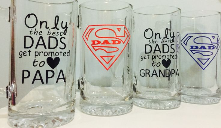 Fathers day beer mugs crafty pinterest fathers day