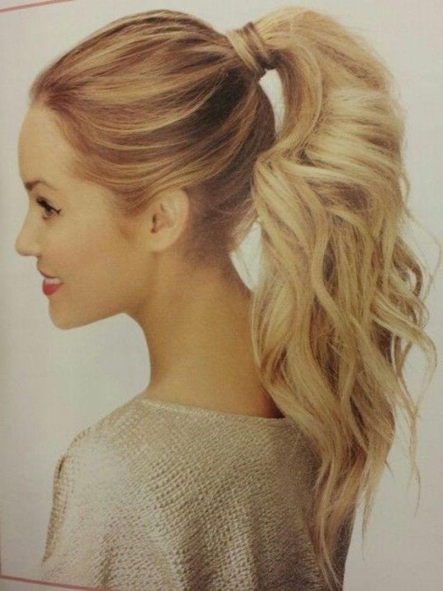 25 best ideas  about Fancy ponytail  on Pinterest Wedding