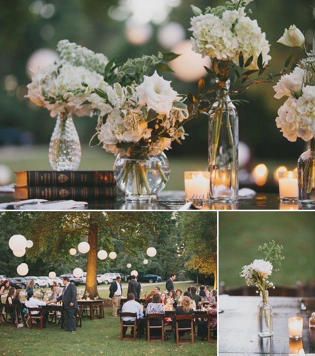 Beautiful DIY Backyard Wedding! Backyard Weddings