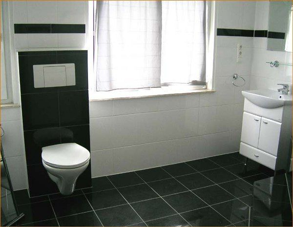 17 Best Images About Bathroom On Pinterest Black Colors Minimalist Bathroom Design And