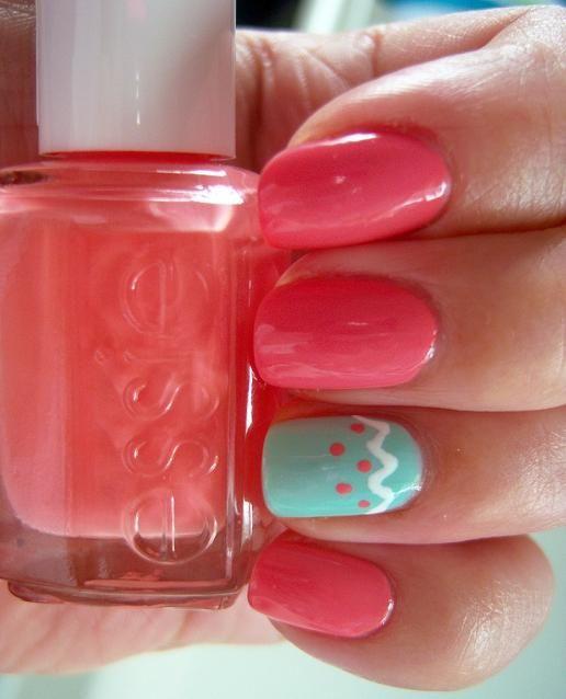 simple pink nails #pink #es