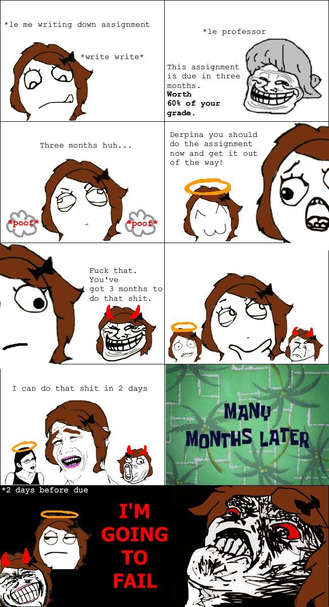 Le Im Going To Fail View more rage comics at http