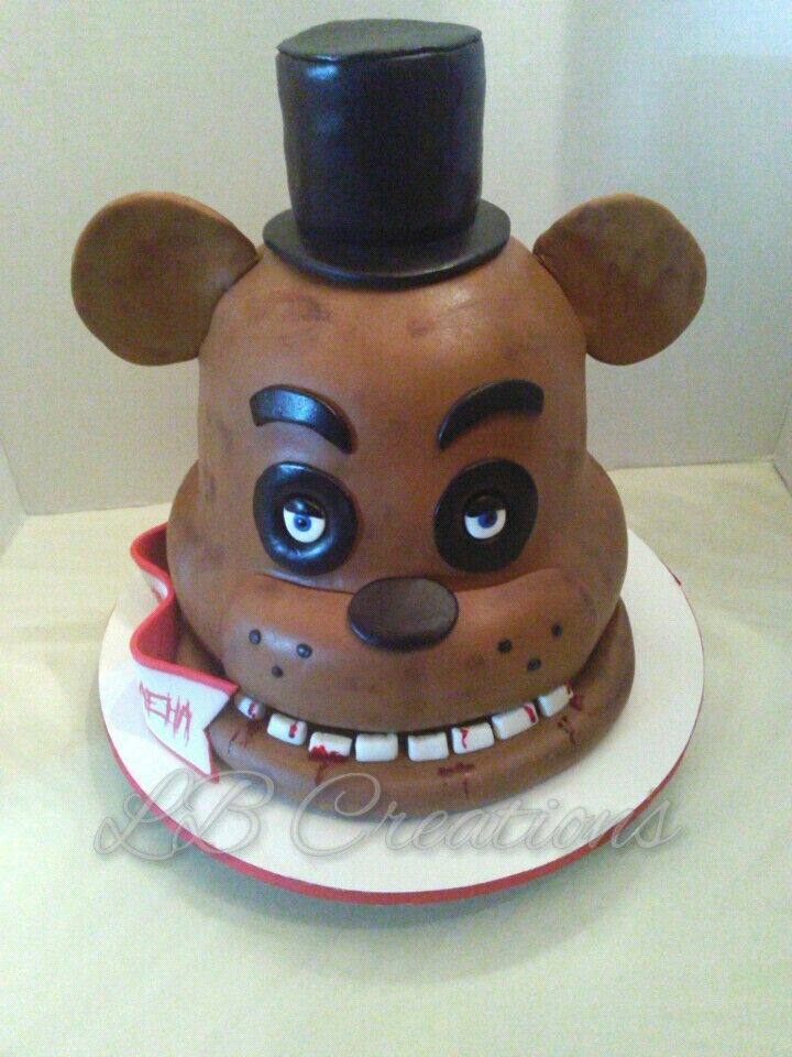 Five Nights At Freddy S Cake Lb Creations Cakes