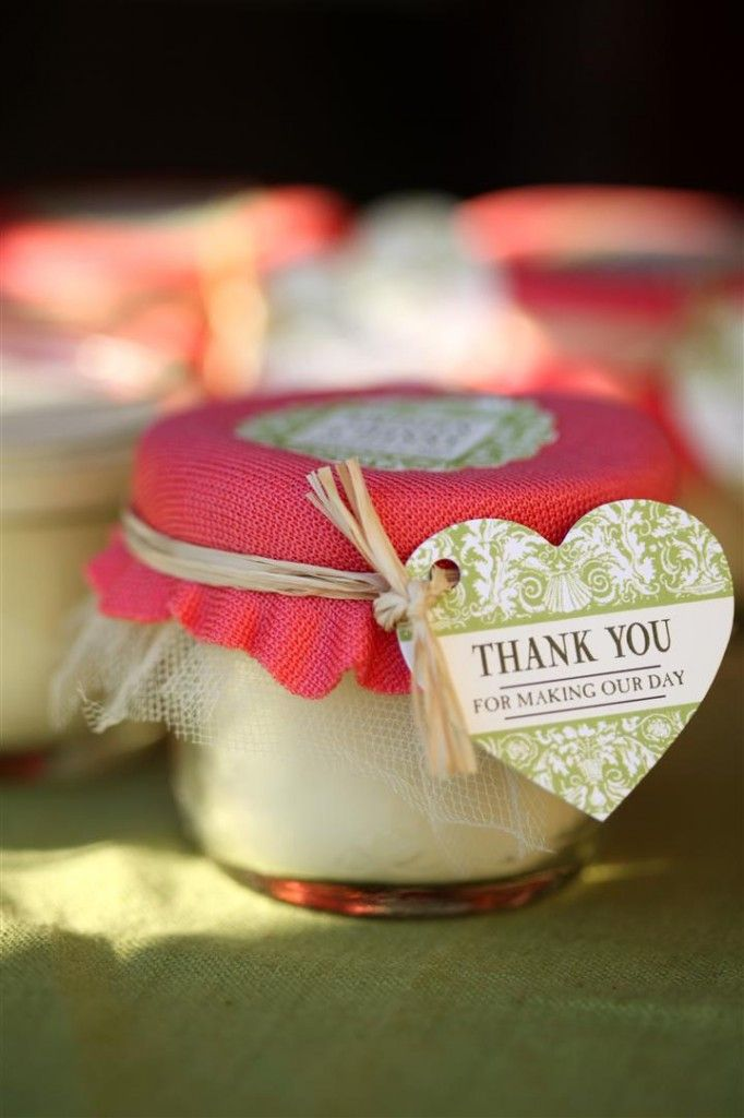 I'm going to try this with a jar candle that has a small, glass lid… we'll see if it turns out as cute as this one.