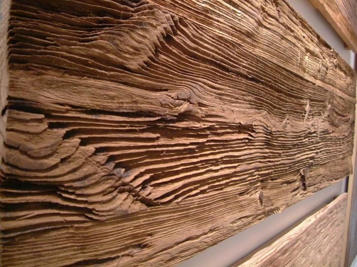 Wall Paneling Idea Sand Blasted Wire Brushed Reclaimed