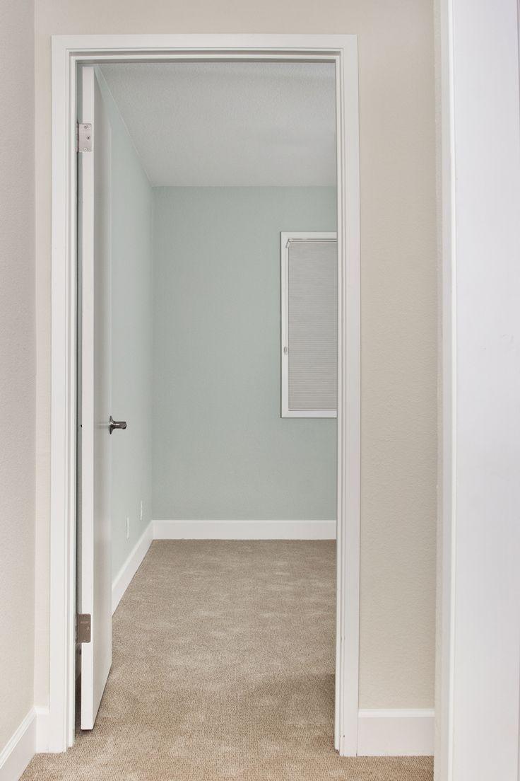 Hallway BM Lancaster Whitewash Leading Into Bedroom BM