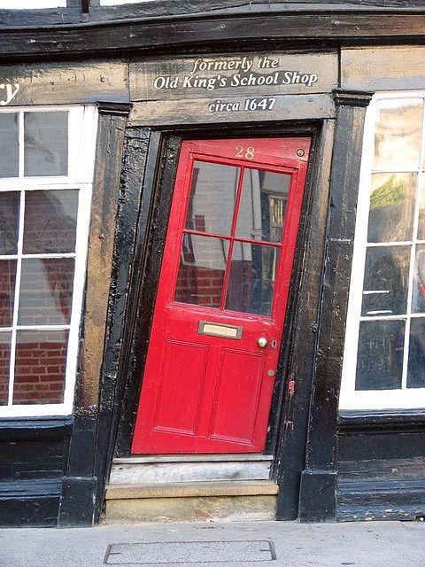 Old Kings School Shop, 1647AD, Canterbury. UK.