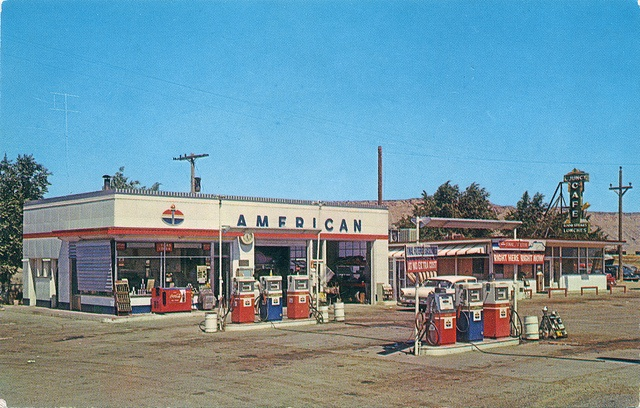 The Gas Station. American my Dad ran one through the 60's