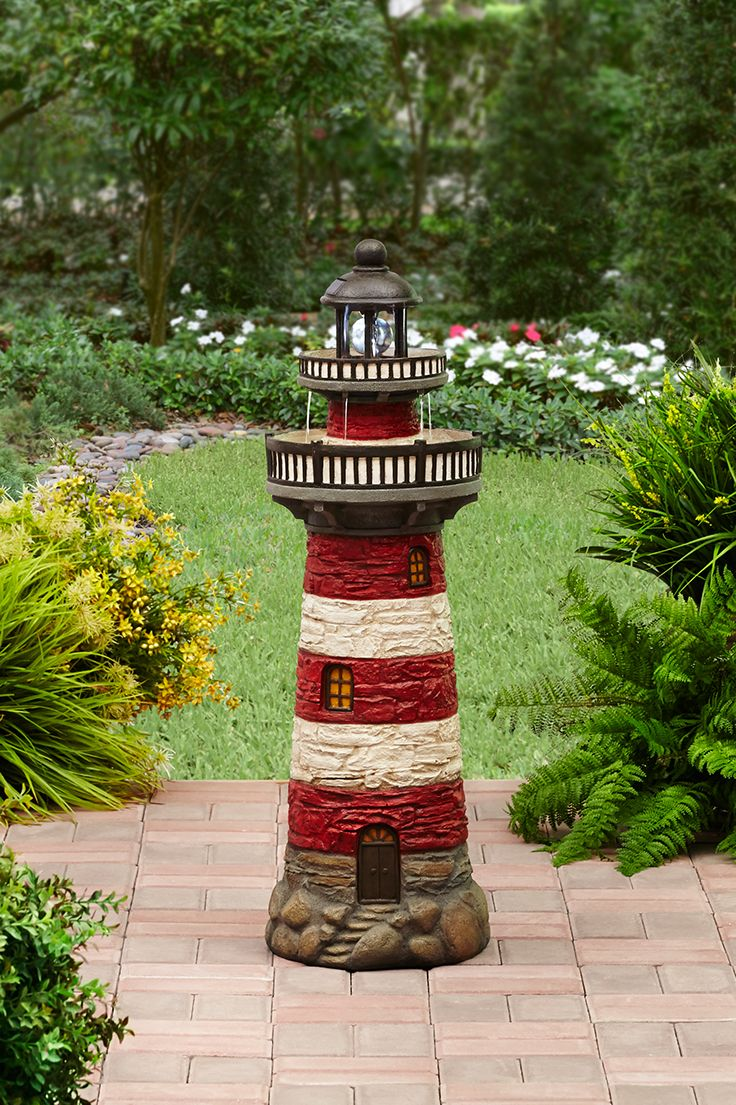 Better Homes And Gardens Contemporary Fountain Led Light