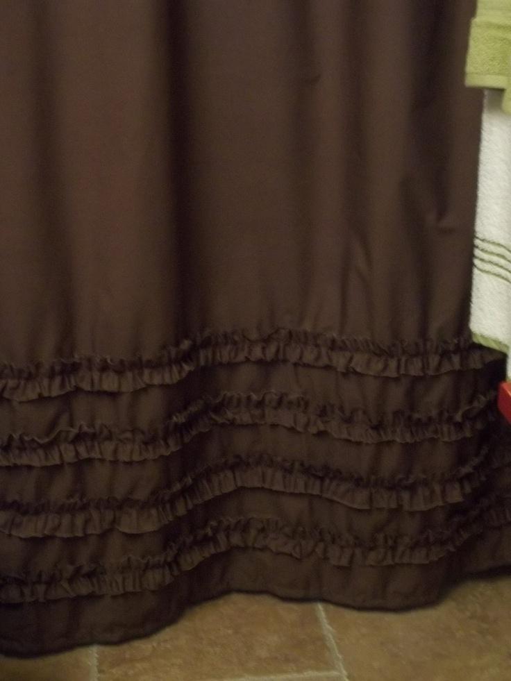Best 25 Brown Shower Curtains Ideas On Pinterest Brown