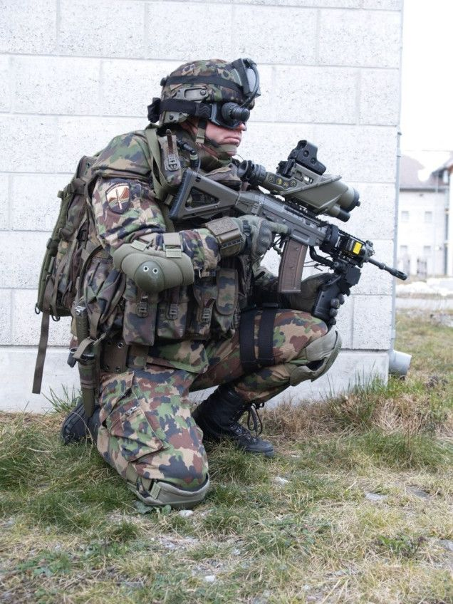 The HighTech Soldiers of the Future Are Here Soldiers