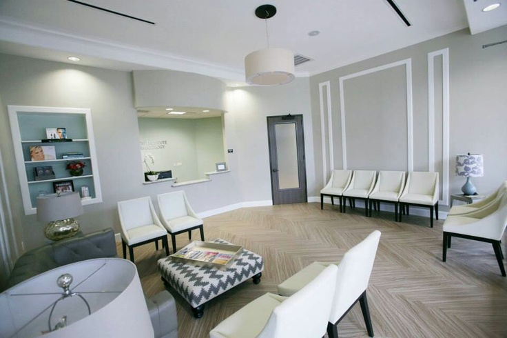 Houston Institute of Dermatology waiting room. Our