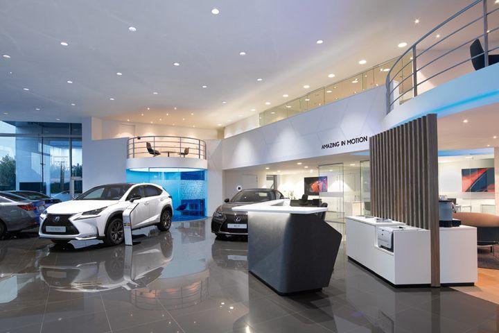 Lexus Showroom By ARNO Europe Retail Design Blog Auto