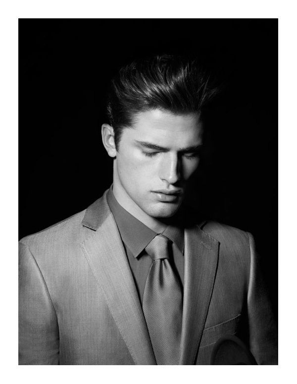 Sean Opry A Clean Shaven Face And A Suit A Spash Of