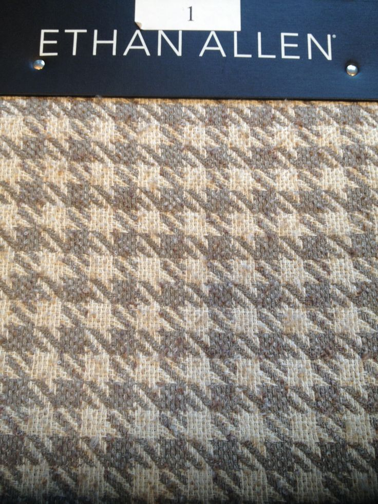 Grey Houndstooth Upholstery Fabric Ethan Allen Chairs
