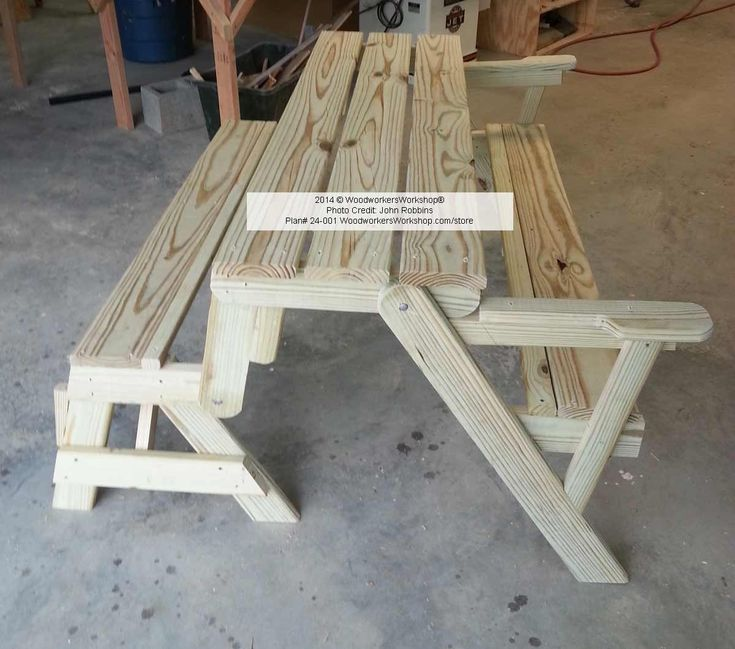 Woodworking Plans Picnics And Picnic Tables On Pinterest