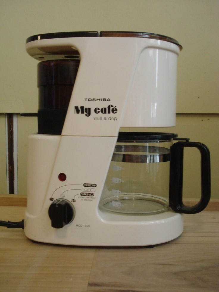Toshiba My Cafe Mill and Drip coffee maker parts or repair