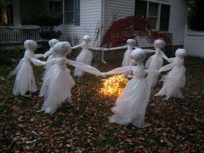 The Pink Pixie Forest: Lawn Ghost Re-Post: