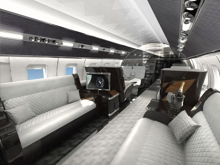 The Most Luxurious Private Jet Interior Designs 11 MR