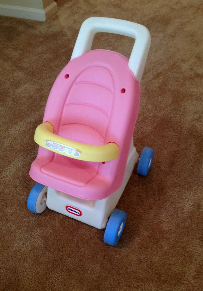 Little Tikes Baby Doll Stroller/Walker in Pink RARE and