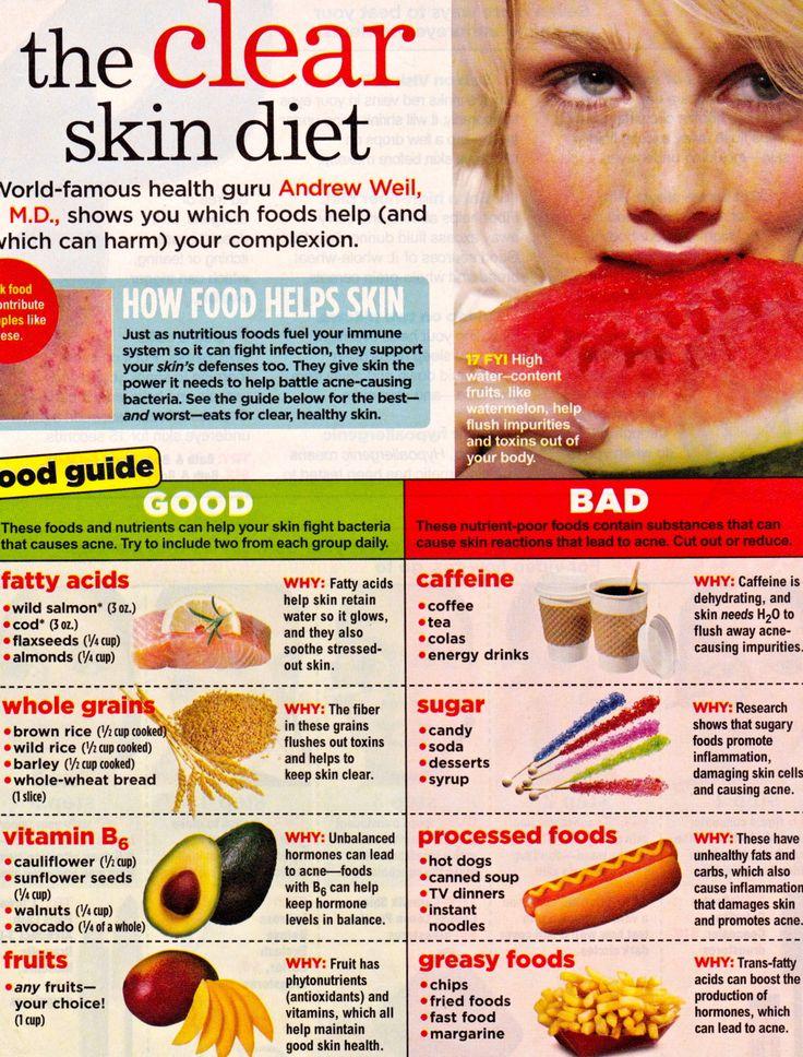 25+ best ideas about Clear Skin Diet on Pinterest | Diet ...