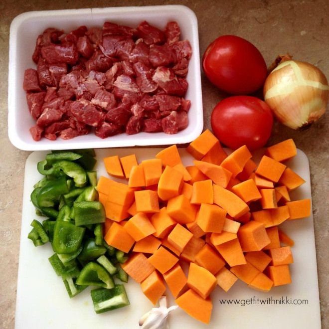 Hearty Beef and Butternut Squash Stew {21 Day Fix Extreme} – Get Fit With Nikki