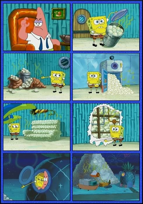 """RockaBye Bivalve"" Spongebob Pinterest Tacos"