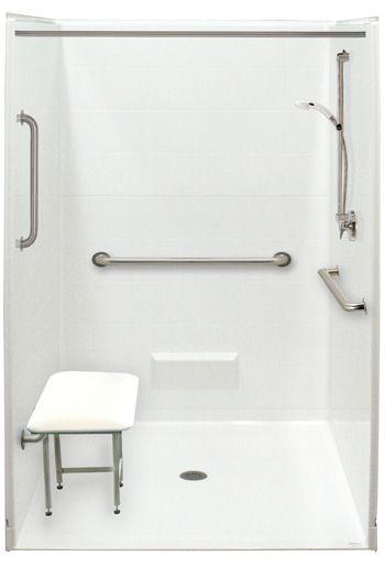 HandicapShowerStallwithSeat See More Design Ideas At Http