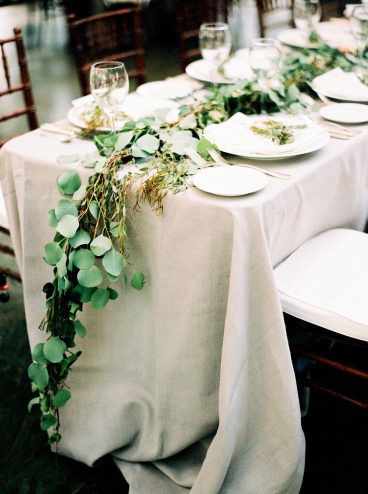 1000 Ideas About White Wedding Linens On Pinterest