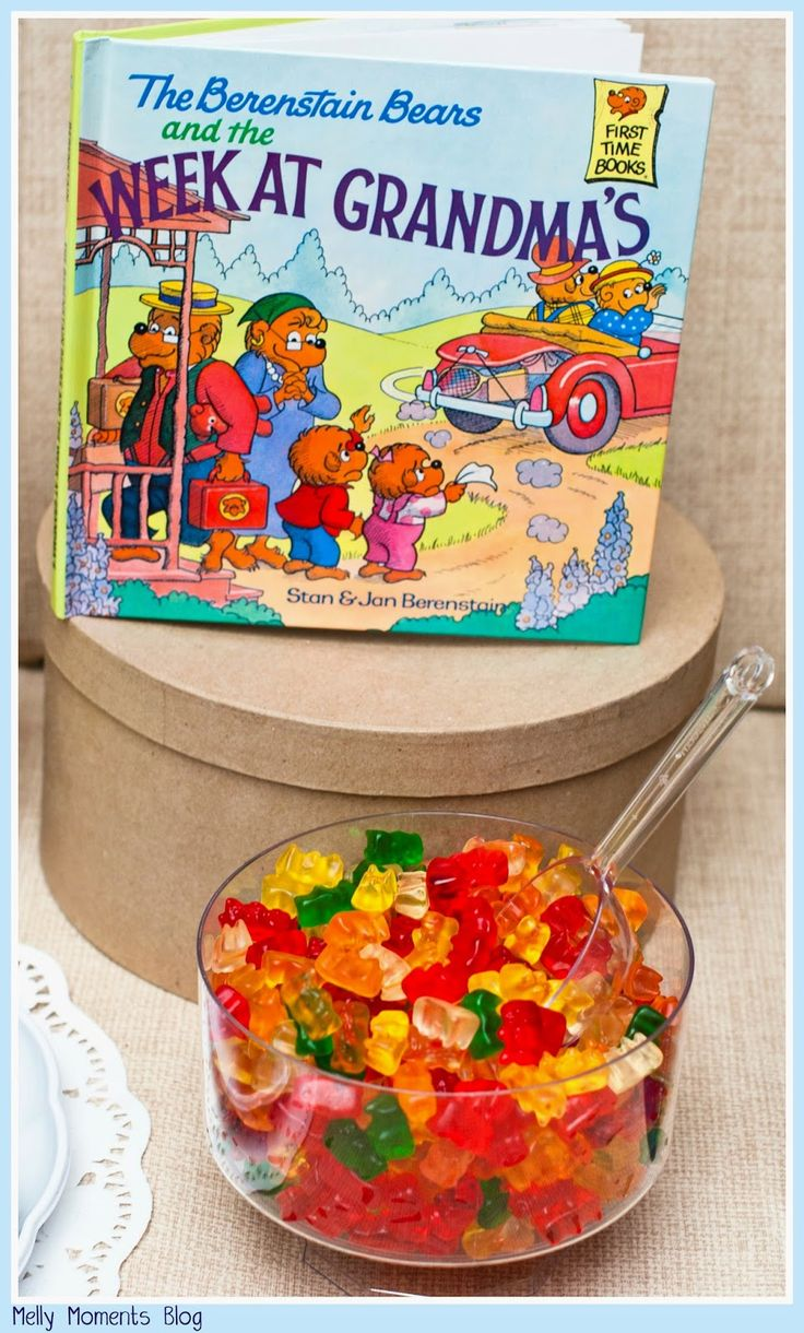 A Storybook Themed Baby Shower… The Berenstein Bears, and many other favorites, help create this gender neutral party! It