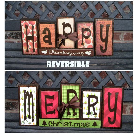 Reversible blocksGive Thanks reverses with Jingle by jjnewton