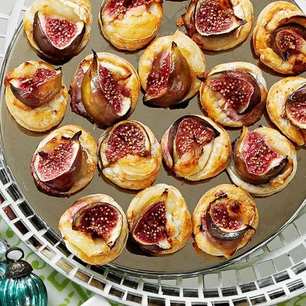 Fig and goat's cheese puffs Cheese puffs, Goat cheese