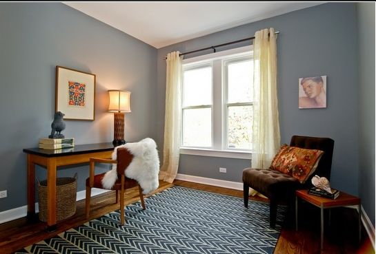 Benjamin Moore Timberwolf Saw This Paint Color In