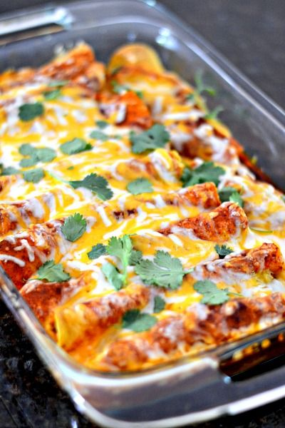 The BEST enchiladas ever! I've been making this recipe for 5 years. Totally from scratch and totally delicious!