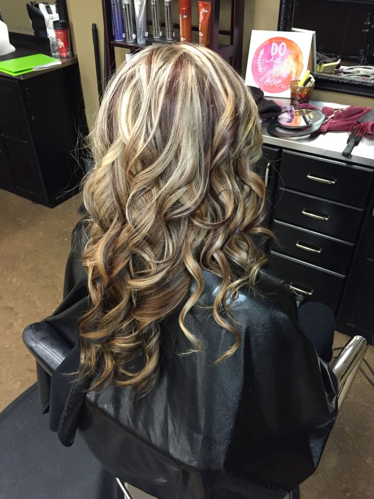 Blonde With Auburn Lowlights Hair Pinterest Love And