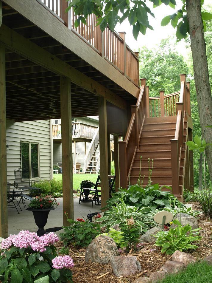 under deck patio Google Search Landscape Ideas