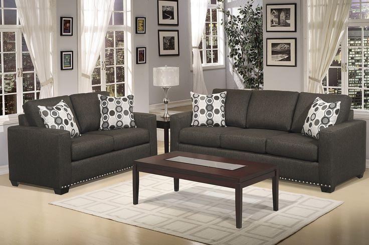 Dark Grey Sofa Living Room Ideas - Google Search