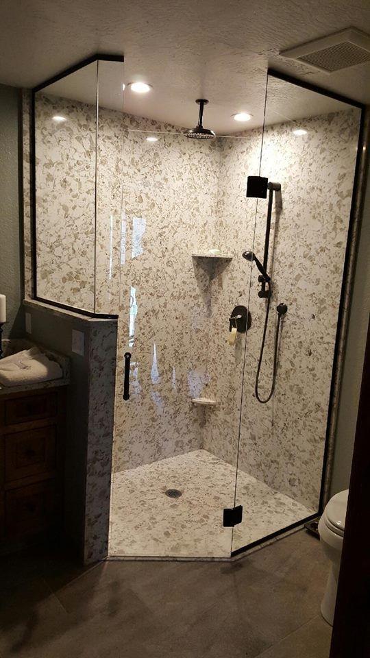 Pental Quartz Quot Serra Quot Shower Walls And Pan Pental Showerwalls Showerpan Stone Solidsurface