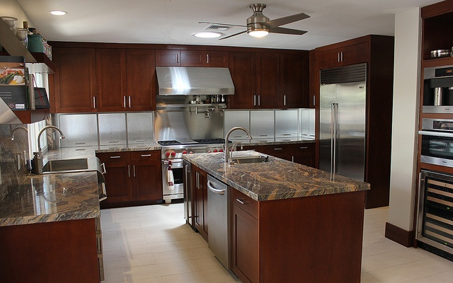 Great Kitchen With Specialty Stainless Steel Appliance
