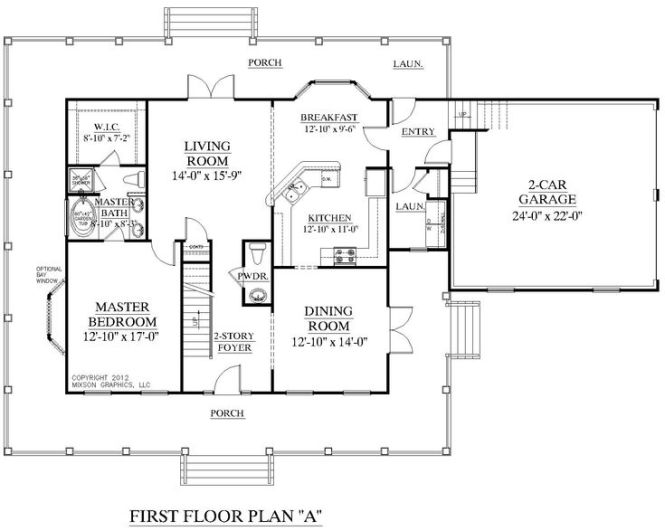 17 Best Images About 1 2 Story House Plans On Pinterest 2nd