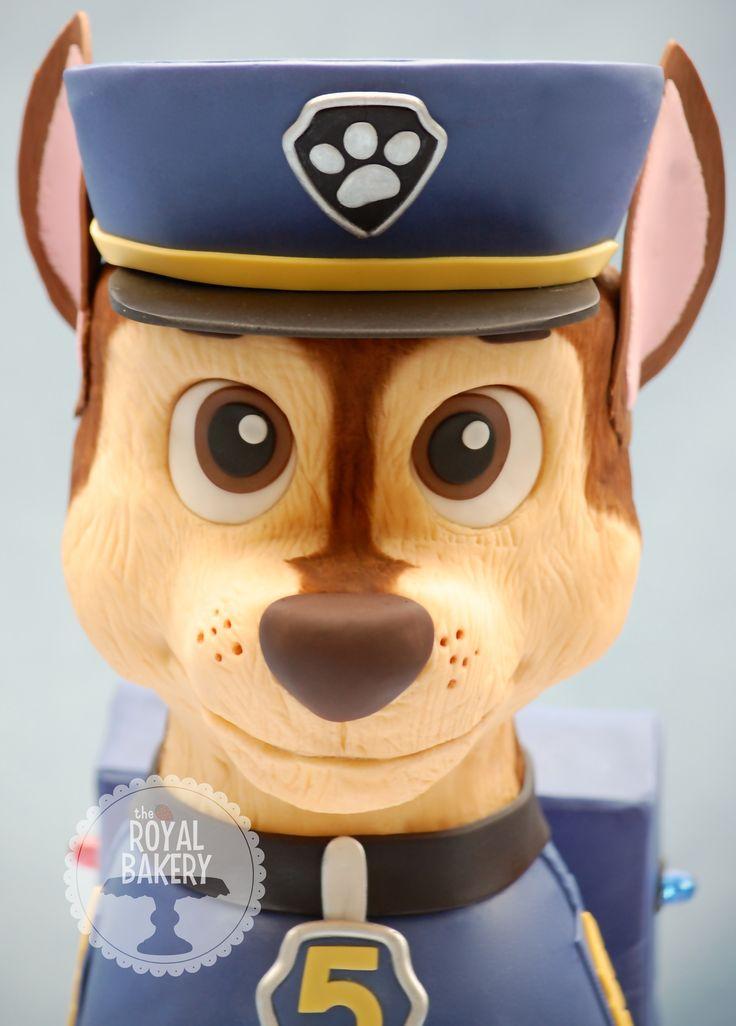Paw Patrol Chase Cake Animali Pdz Pinterest Bakeries