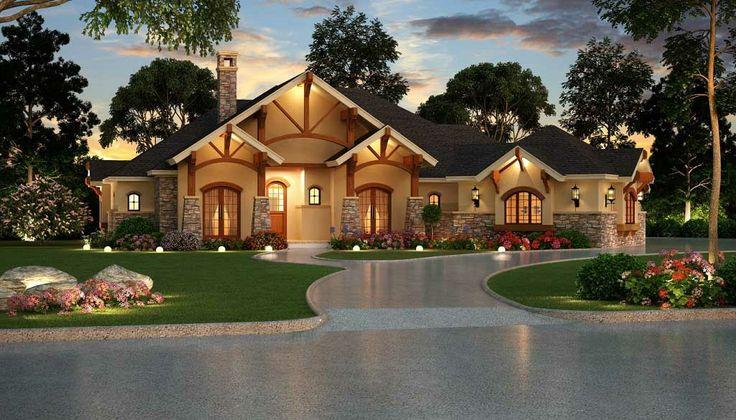 One Story House Design Ideas Exterior