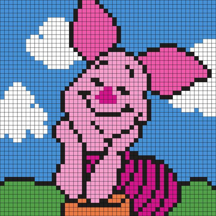 Bead Minecraft Perler Heart
