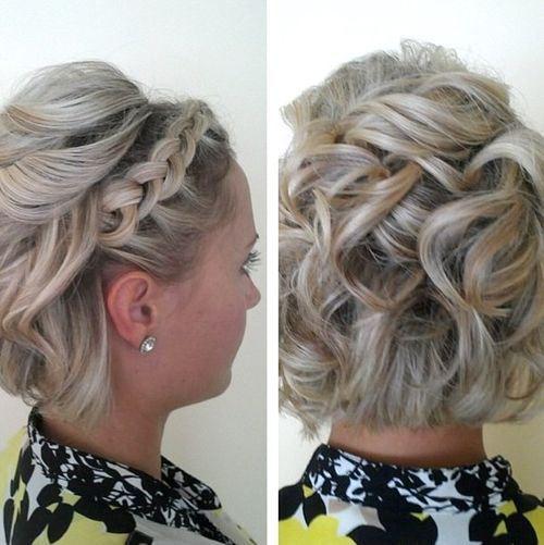 25 Best Ideas about Short  Hair Bridesmaid on Pinterest